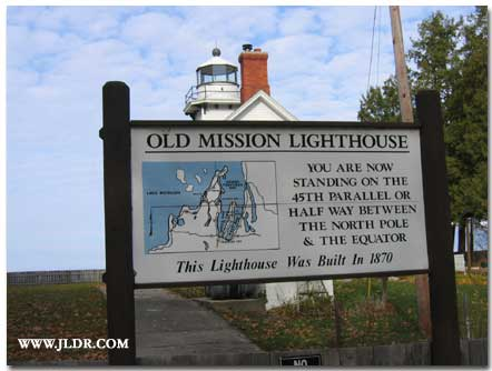The Old Mission Lighthouse