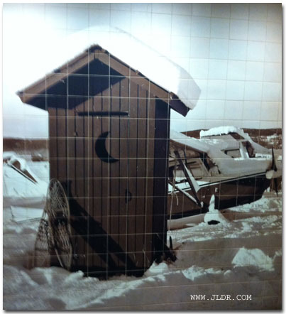 Fairbanks, Alaska Outhouse