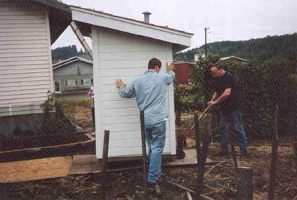 Aha! Creating a moving pathway for the Outhouse