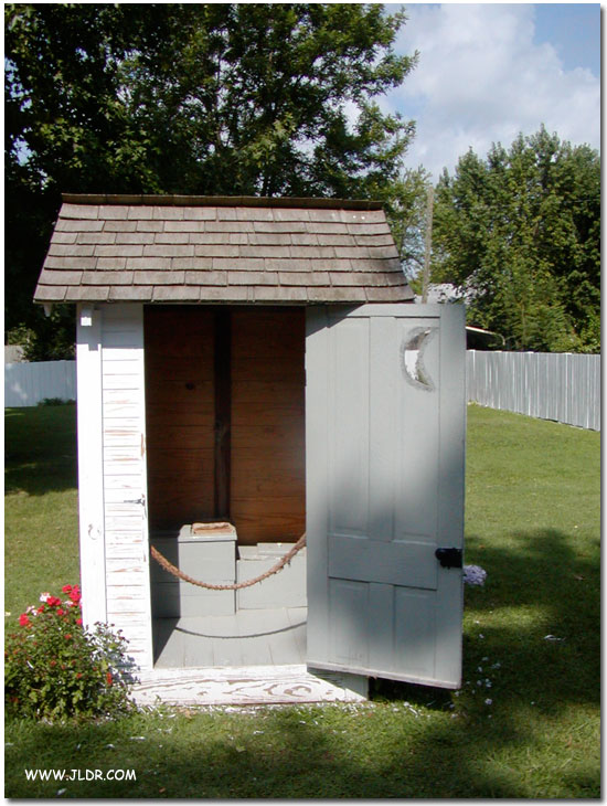 Harry S. Truman's Outhouse in Lamar, Missouri