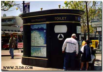 A Modern form of an Outhouse in California