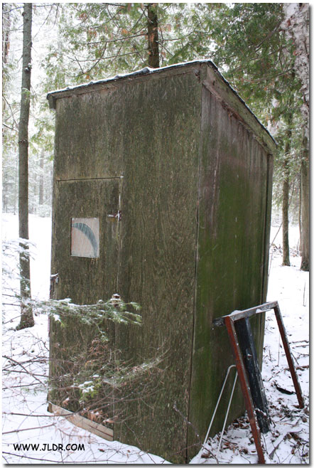Drummond Island Outhouse