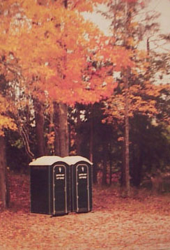 Beautiful Fall scene on Canada - Gotta Go! Toilet Rentals
