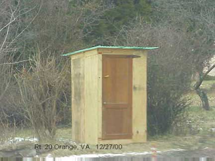 Virginia Outhouse