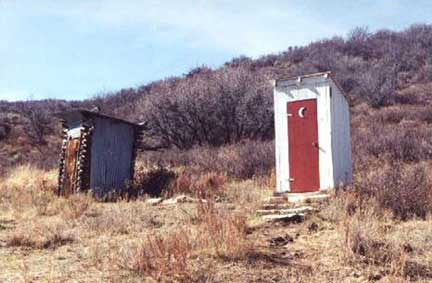 Unknown Location Outhouse