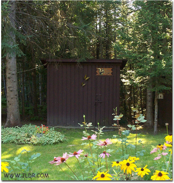 Northern Michigan Outhouse