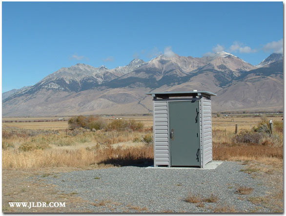 The new Mackay Fish Hatchery Outhouse