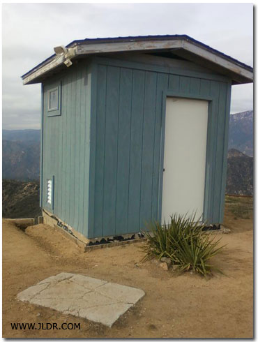 Morton Peak Outhouse