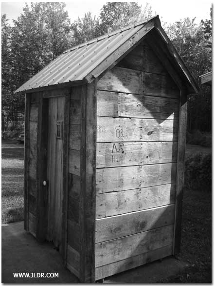 Outhouse After Restoration
