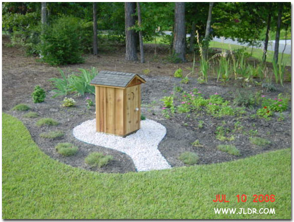 1/3 Scale Pump Cover Outhouse