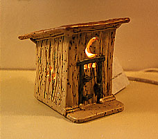 An Outhouse Night Light