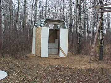 A Chevy Blazer Outhouse