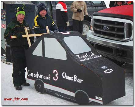 The kids version of a tribute to Dale Earnhardt #3