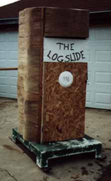1st Place ages 31 and up: The Log Slide