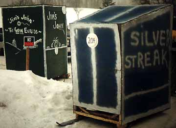 Silver Streak Outhouse