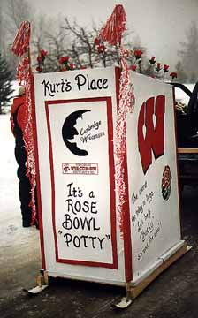 Kurt's Place - A Rose Bowl Outhouse