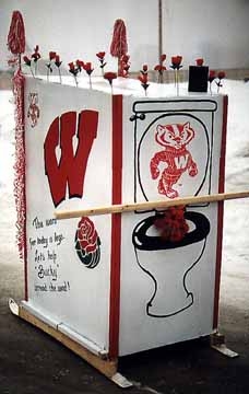 Back of the Rose Bowl Potty