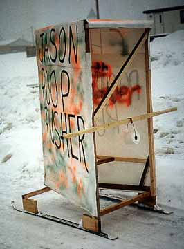 Jason Poop Pusher Outhouse