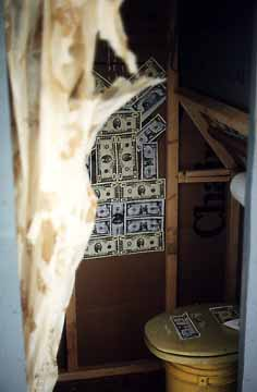 Inside the Money Machine Outhouse