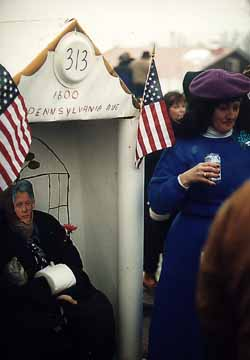 The White House with Monika Lewinsky and President Clinton