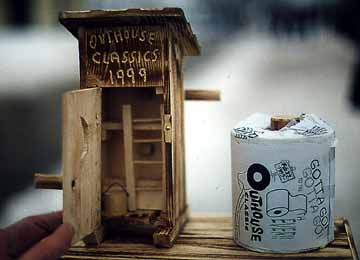 Inside the Outhouse Classic Trophy