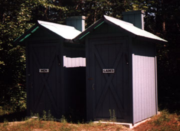Men and Women's Outhouses
