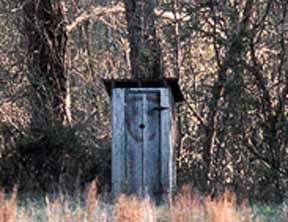 An Outhouse in Kentucky