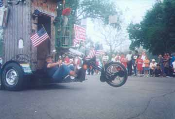 The Motorcycle Powered Outhouse