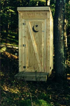 Presenting the NEW Outhouse!