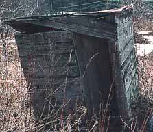 Front of NH 1800's Outhouse
