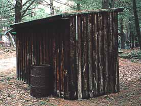 A Bullet Riveted Outhouse