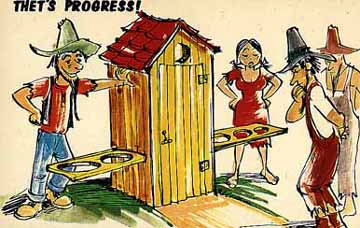 Ever wish you could adjust the hole in an Outhouse?