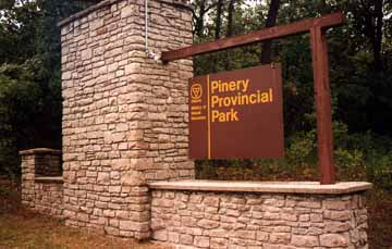 Pinery Provincial Park in Grand Bend, Ontario Canada