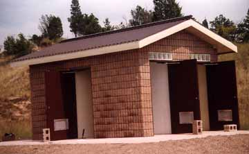 New Outhouse at the Pinery Provincial Park