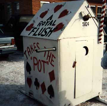 A Royal Flush Outhouse