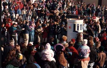 The Crowd at the Outhouse Races