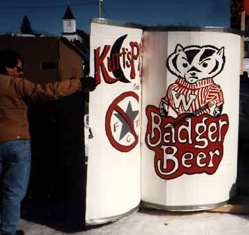 Kurt's Place Outhouse from  Cambridge, Wisconsin