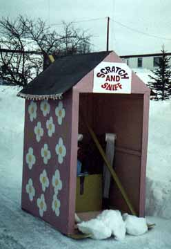 Scratch and Sniff Outhouse