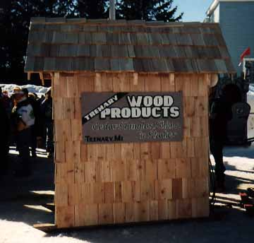 The Trenary Wood Products Outhouse