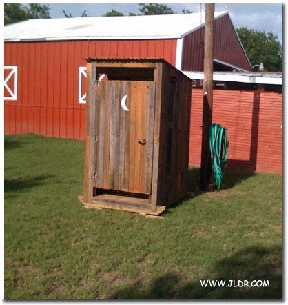PaPaw's Outhouse in Texas