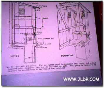 Outhouse Plans from a Miner's Point of View