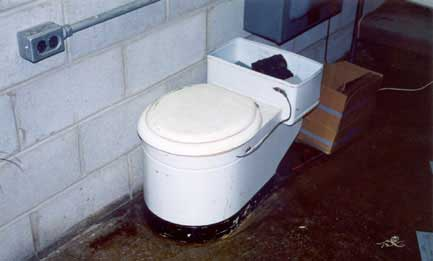 Electrical Potty at the Kings Mountain Microwave Tower