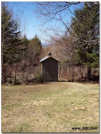 Eagle River, Michigan Outhouse