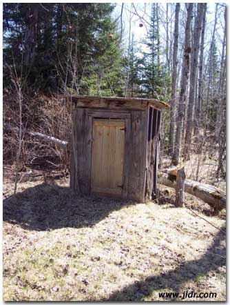 Phoenix, Michigan Outhouse