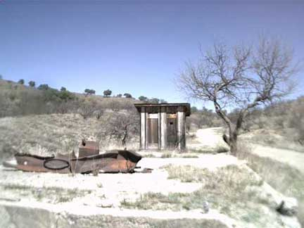 First structure seen entering Ruby, AZ