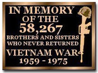 In Memory of the 58,267 Brothers and Sisters Who Never Returned