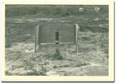 Latrine used by the Army 1966